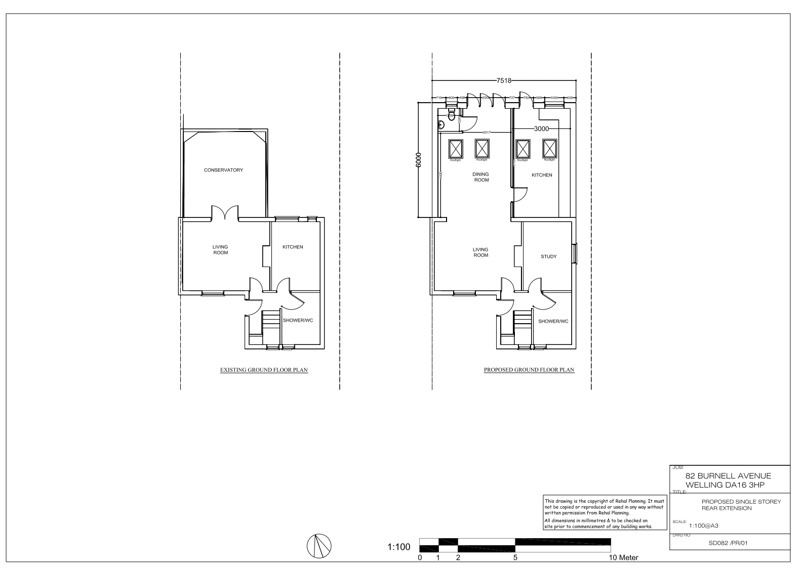 Prior Approval Of 6 Meter Deep Rear Extension In Bexley Mek Town Planning And Design