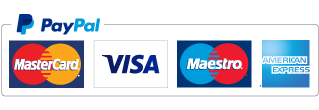 Pay with debit or credit card via Paypal